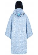 Blauw / off white Bike Cape / Regencape Vaya Cheetah van Happy Rainy Days
