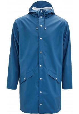 706976728f4a36 Blauwe lange regenjas van Rains (Long Jacket) (Maat M/L) - Dames ...