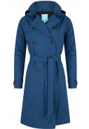 Blauwe Long Trenchcoat Strip Stacey van Happy Rainy Days 3