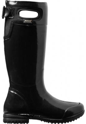 Bogs laarzen Tacoma solid zwart (Maat 42) Dames Regenlaarzen
