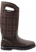 Bogs laarzen Classic tall winter plaid chocolate