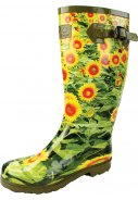 Dames regenlaars Countrywoman Green Wellington van Highlander