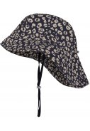 Donkerblauw/beige zuidwester Mara Cheetah van Happy Rainy Days