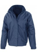 Donkerblauwe heren Core Channel Jacket van Result