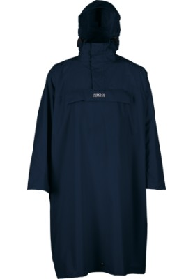 Donkerblauwe wandel poncho High Peak van Pro-X Elements