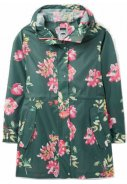 Floral Green Go Lightly regenjas van Joules