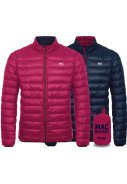 Fuchsia / Navy Polar Dames Donsjas reversible van Mac in a Sac