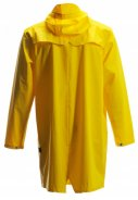 Gele lange regenjas van Rains (Long Jacket) 2