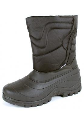 Boot / Botte D'hiver Matelassée Neige Longues Femmes Noires 0cN1ShFx
