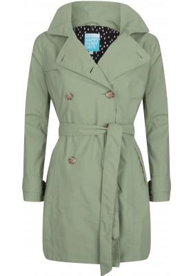 trenchcoat dames groen