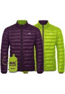 Grape / Lime Polar Dames Donsjas reversible van Mac in a Sac