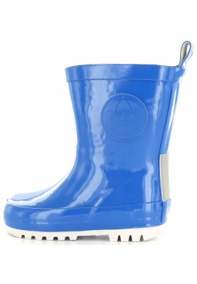 fdd47fb1e6b Kobaltblauwe kinder regenlaars met fleece sok van Shoesme