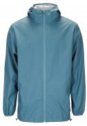 Pacific blauwe regenjas Base Jacket van Rains