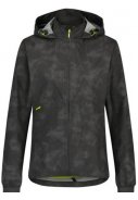 Reflection black compact dames regenjas Commuter jacket van Agu