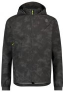 Reflection black compact heren regenjas Commuter jacket van Agu