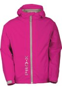 Neon roze kinder regenjas Flashy van Pro-X Elements