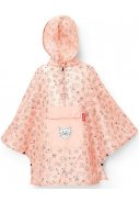 Roze lichtgewicht kinder Regenponcho, Cats and Dogs